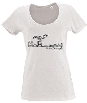 T-shirt femme Balade Tourangelle - Blanc