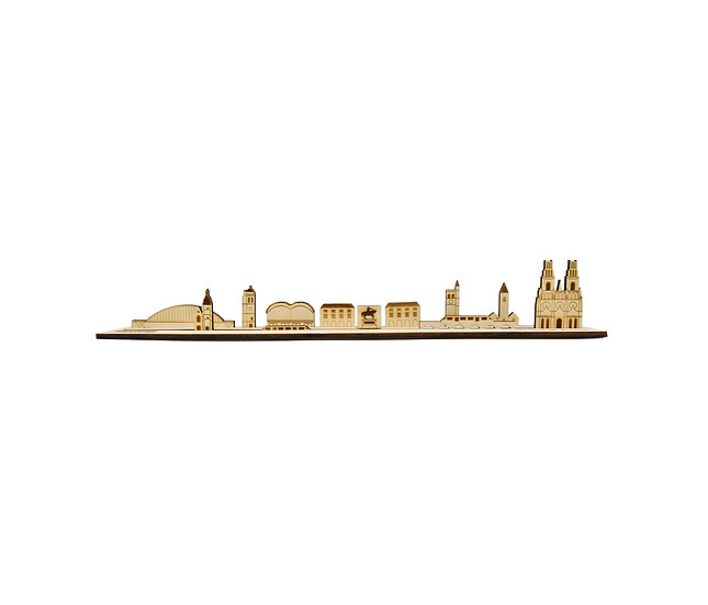 Orléans - Skyline 3D