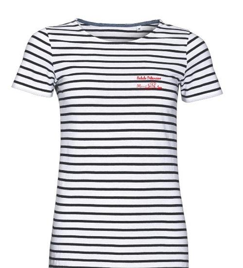 T-shirt Marinière femme Balade Orléanaise