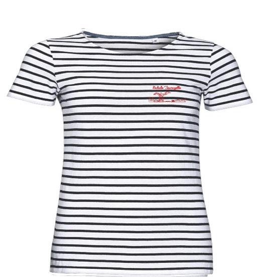 T-shirt Marinière homme Balade Tourangelle