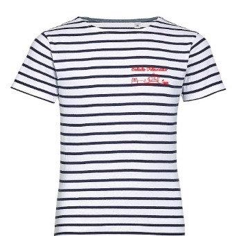 T-shirt Marinière kids Balade Orléanaise