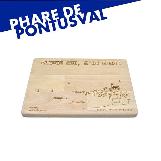 Phare de Pontusval - grande planche apéro