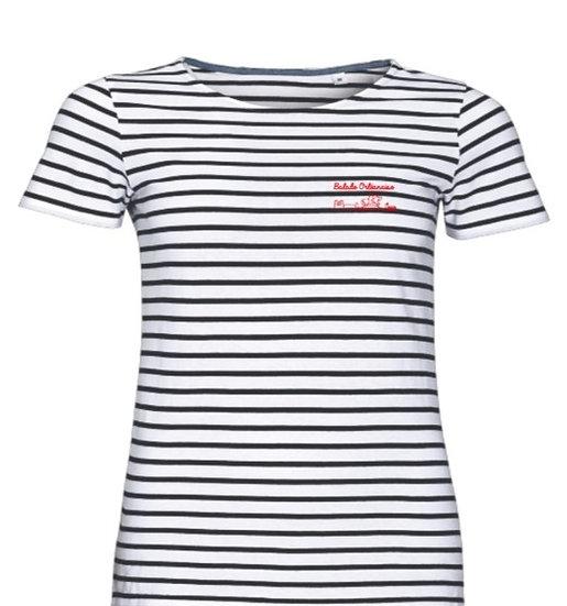 T-shirt Marinière homme Balade Orléanaise