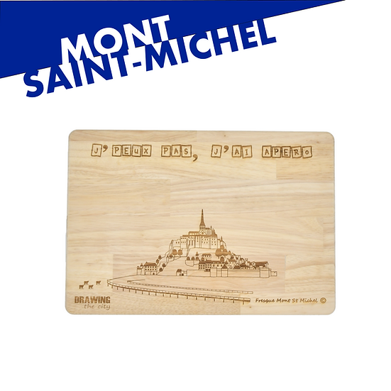 Mont St Michel - grande planche apéro