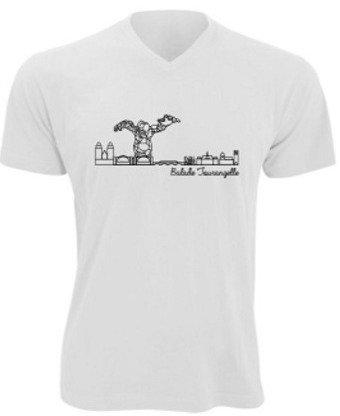 T-shirt homme Balade Tourangelle - Blanc