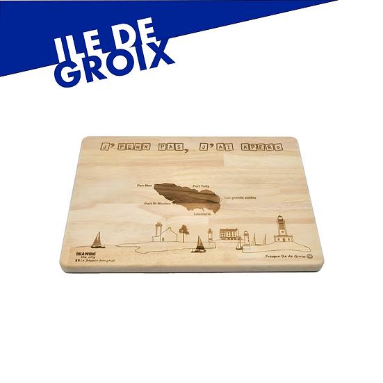Ile de Groix - grande planche apéro