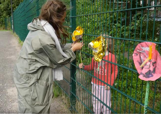 """Aktionswoche """"Mehr Grün & Mehr Blumen"""" - Tag 2 & 3 - Herbstblumen und Stencils für Gaarden"""