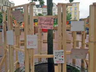 """Aktion """"Visionen-für-Gaarden-Baum"""""""