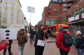 Demo-Aktion Elisabethstraße