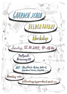 Gaarden Sehen - Bildersafari - Workshop