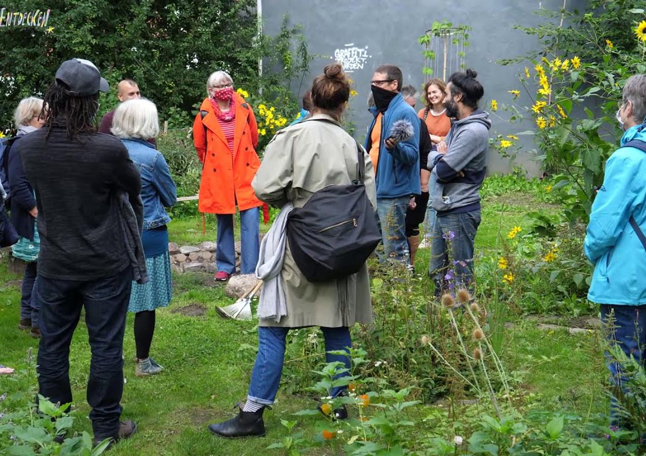 """Aktionswoche """"Mehr Grün & Mehr Blumen"""" - Tag 1 - Gaarden's bunte Gärten"""