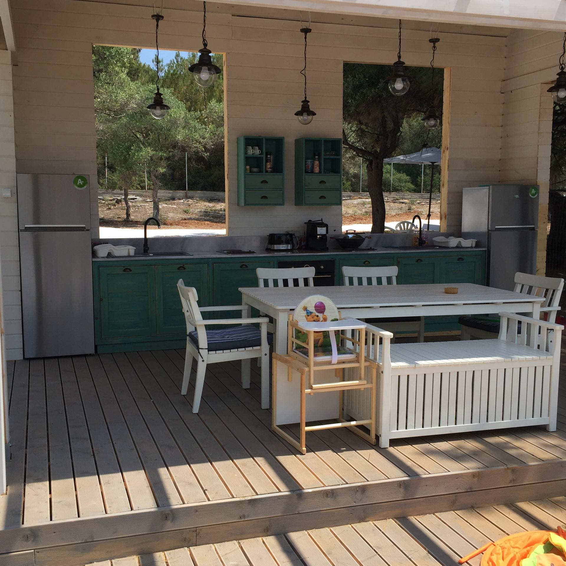 Our summer kitchen