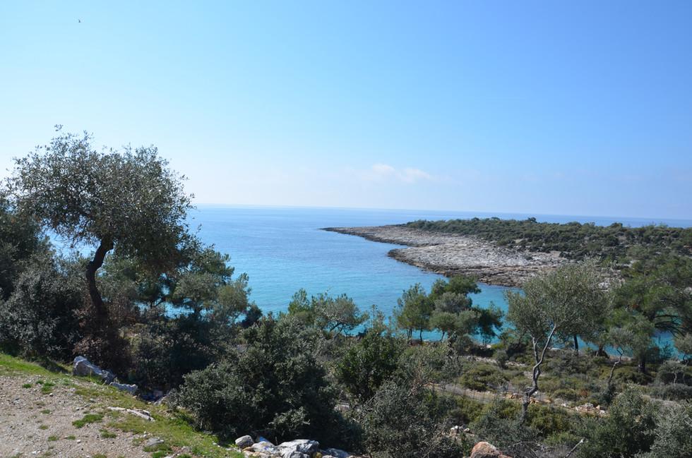 View to Agia Anna