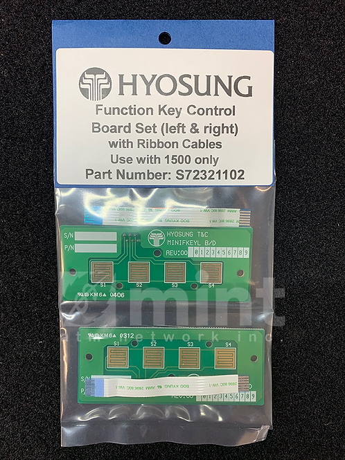 Hyosung 1500 Function Key Control Boards