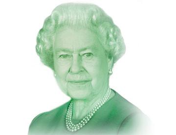 Queen Elizabeth II, $20 Canadian Bill