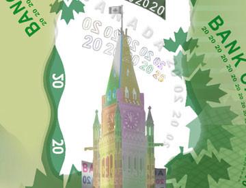 $20 Canadian Bill
