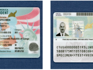 New Green Cards & Work Permits to Start Showing up on I-9s