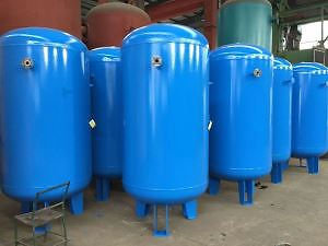 Vaso de pressão vertical para ar comprimido | Metal Cruzado