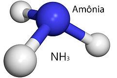 Molécula de amônia | Metal Cruzado