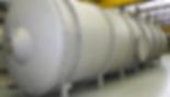 Vaso de pressão utilizado para vácuo | Metal Cruzado
