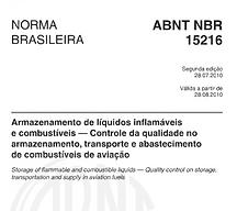 Trecho da norma NBR 15216   Metal Cruzado