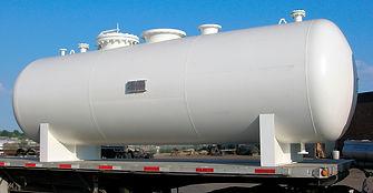 Vaso de pressão branco utizado para armazenamento de nitrogenio | Metal Cruzado
