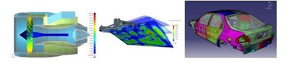 Método de elementos finitos aplicado a uma turbina, a um flap e a um automóvel   Metal Cruzado