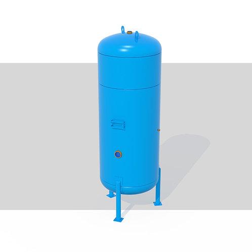 Projeto de Vaso de Pressão Vertical S/ Radiografia-2000L 10kgf/cm²-Ar Comprimido