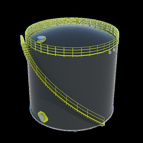 Tanque API 650 para armazenamento de derivados de petróleo