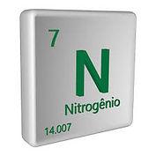 Símbolo químico do nitrogênio | Metal Cruzado