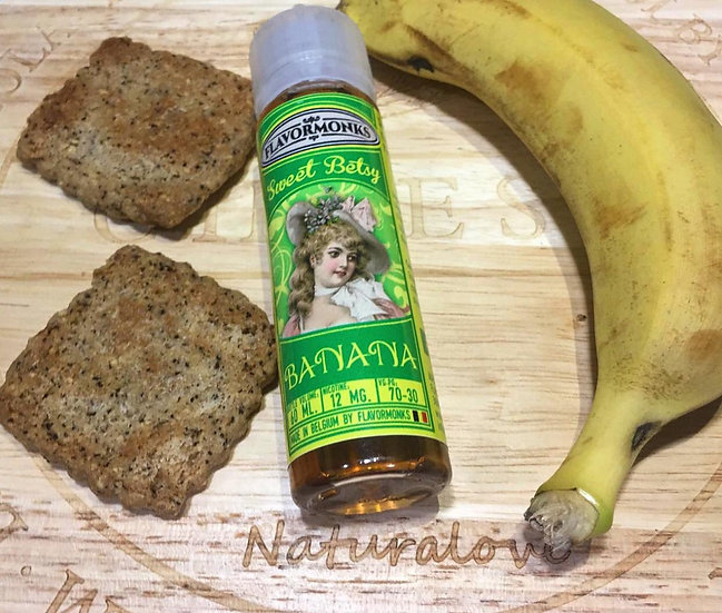 Flavor Monks 'Sweet Betsy Banana' 60ml