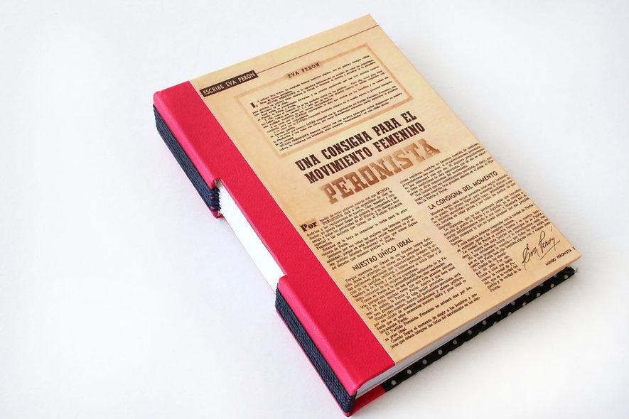 Cuadernos costura expuesta