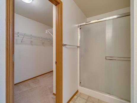 Shower Enclosure in Main Bedroom