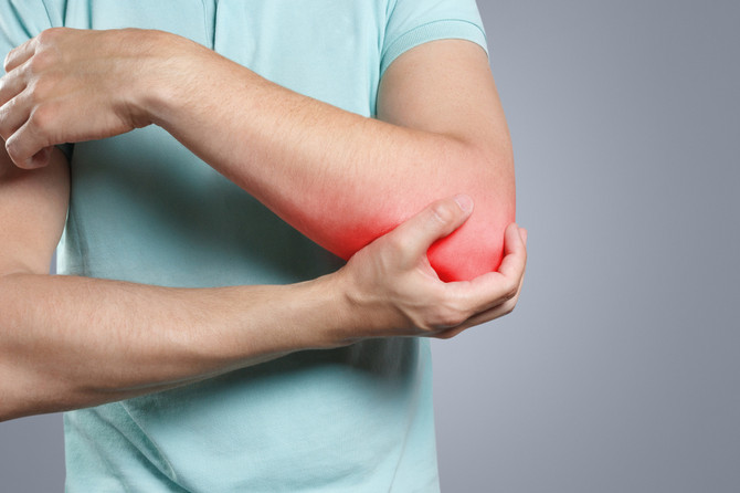 What does elbow pain mean?