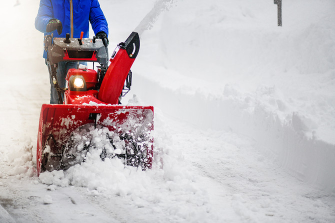 Snow Shovel and Snowblower Safety