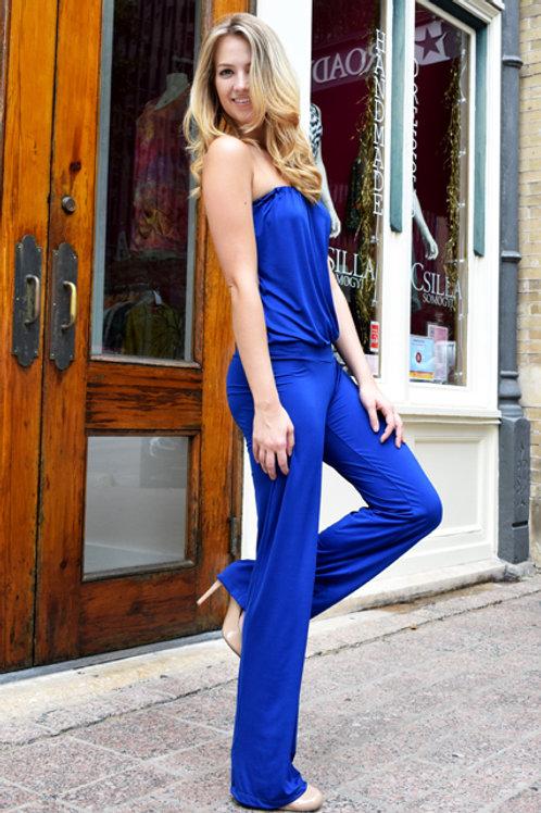 Long Jumpsuit Blue