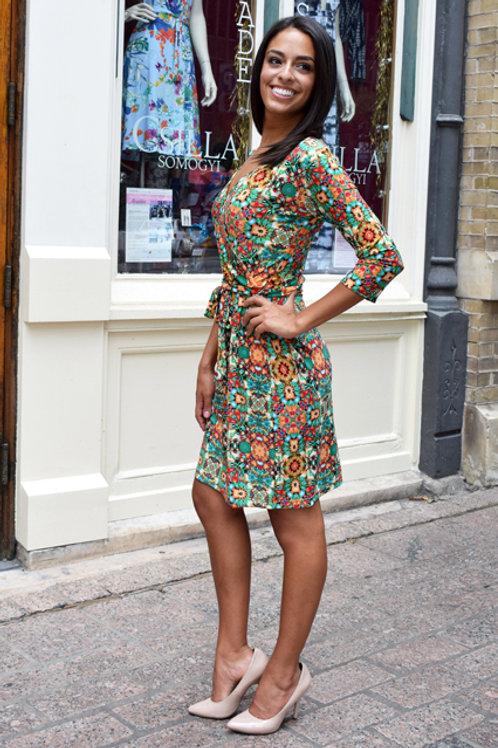 Green Kaleidoscope Palermo Dress