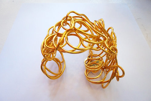 Sugar Gold Wire Bracelet