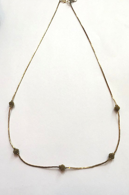 Pake 18'' Snake Chain Necklace