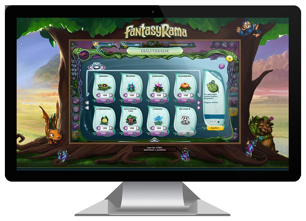Fantasyrama   Bigpoint   Shop