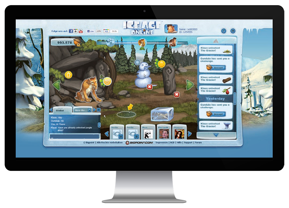 Ice Age Online   Bigpoint   Metagame