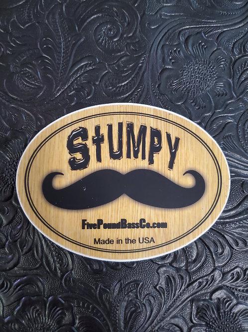 Stumpy Logo Sticker