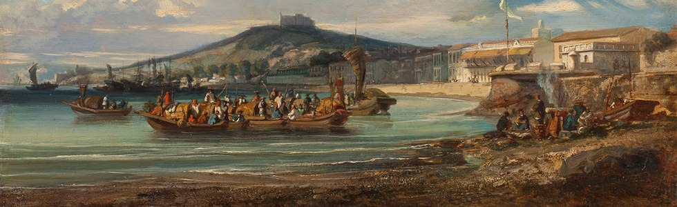 August Borget (1809 - 1877)