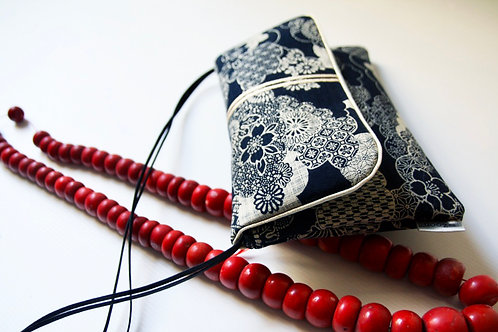 "byZoon - sac ""geisha"" motif Kyoto/rouge - collection kumi"
