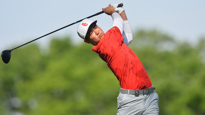 USC's Justin Suh Named Southern Golf Association's Amateur of the Month for February 2018