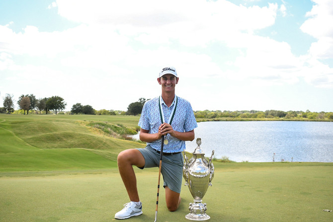 McClure Meissner Wins 114th Southern Amateur Championship on the First Hole Playoff
