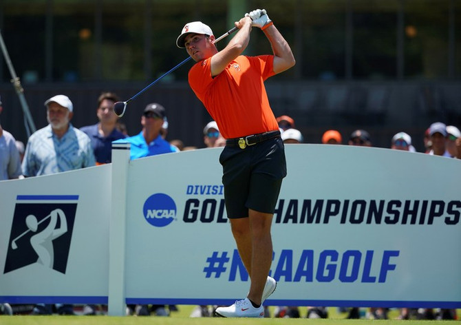 NCAA Champion Matthew Wolff Named Southern Golf Association's Amateur of the Month for May 2019