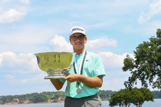 Jack Roberts Leads Wire-to-Wire to be Crowned Champion of the 49th Southern Junior Championship