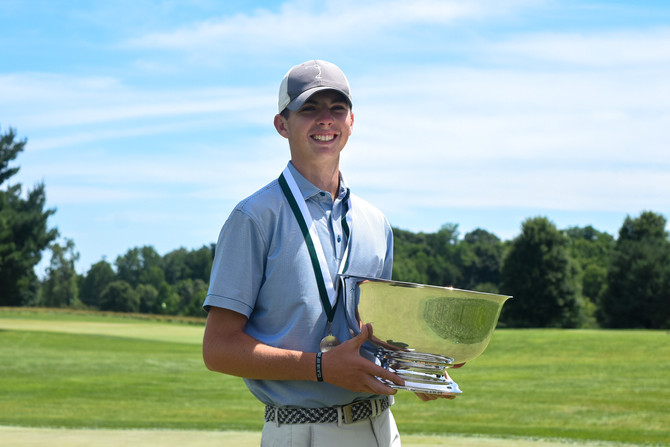 Jackson Lalonde Wins the 47th Southern Junior Championship in Playoff