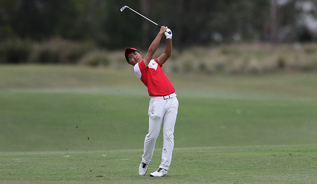Japan's Takumi Kanaya Named Southern Golf Association's Amateur of the Month for October 2018